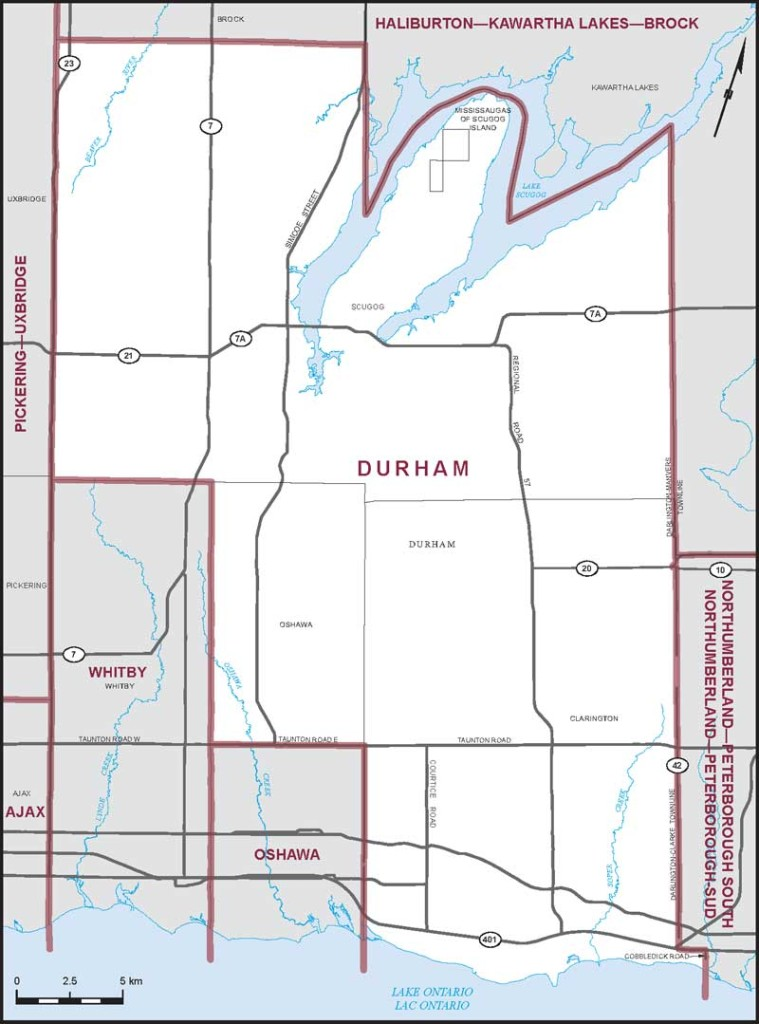 Durham Riding Map